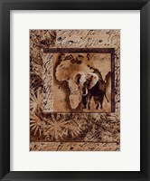Framed Wild Kingdom I