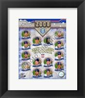 Framed 2008 Los Angeles Dodgers West Division Champs Composite