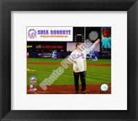 Framed Tom Seaver Final Game at Shea Stadium 2008