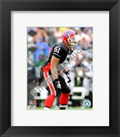Framed Paul Posluszny 2008 Action