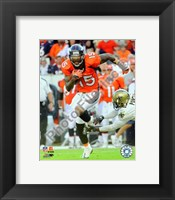Framed Brandon Marshall 2008 Action