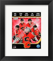 Framed 2008-09 Calgary Flames Team Composite