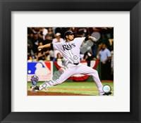 Framed Matt Garza Game 7 of the 2008 ALCS