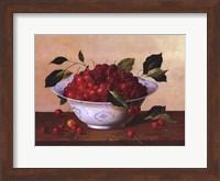 Framed Still Life With Cherries