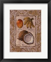 Framed Tropical Fruit I