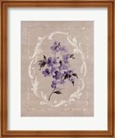 Framed Framed Lilac I