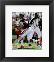 Framed Brian Urlacher 2008 Action