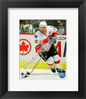 Framed Jarome Iginla 2008-09 Action