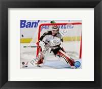 Framed Niklas Backstrom 2008-09 Action