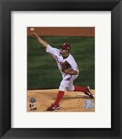 Framed Joe Blanton Game four of the 2008 MLB World Series