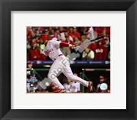 Framed Pedro Feliz Game 5 of the 2008 World Series RBI Single