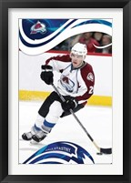 Framed Avalanche - Paul Stastny - 08