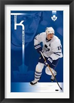 Framed Maple Leafs - Tomas Kaberle 08