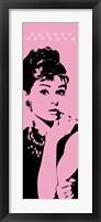 Framed Audrey Hepburn - Cigarello