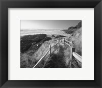 Framed Pathway To Beach
