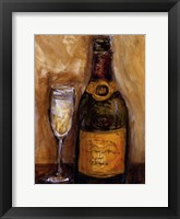 Framed French Champagne