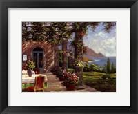 Framed Amalfi Coast I