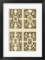 Framed Garden Maze II