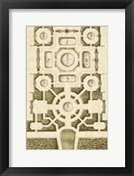 Framed Garden Maze III