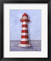 Framed Red And White Light
