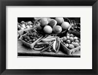 Framed Farmer's Market I
