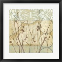Framed Willow and Lace I