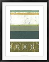 Precipice I Framed Print