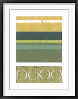 Precipice III Framed Print