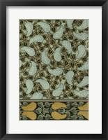 Framed Garden Tapestry I