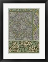 Framed Garden Tapestry III