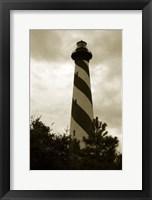 Framed Hatteras Island Lighthouse