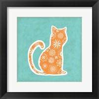 Framed Animal Prints II