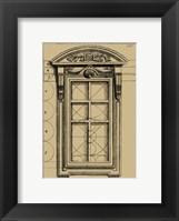 Framed Palladian Window