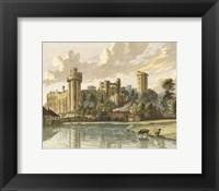 Framed Warwick Castle