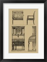 Framed French Empire Furniture I