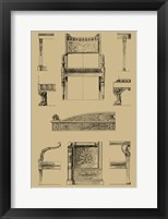 Framed French Empire Furniture II