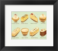 Framed Fanciful Cakes & Tarts II