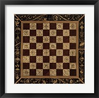 Framed Antique Gameboard I