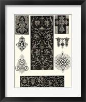 Framed Baroque Details I