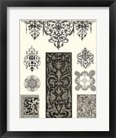 Framed Baroque Details III