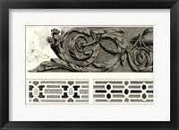 Framed Baroque Details IV