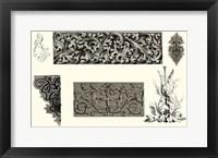 Framed Baroque Details V