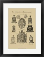 Framed International Clocks