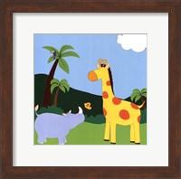 Framed Jungle Jamboree I