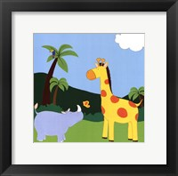 Jungle Jamboree I Framed Print