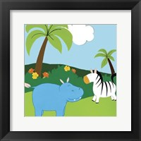 Jungle Jamboree III Framed Print