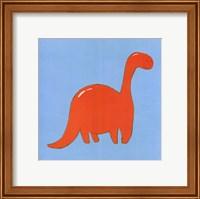 Framed Brontosaurus