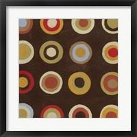 Bullseye I Framed Print