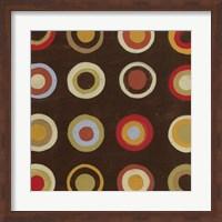 Framed Bullseye IV