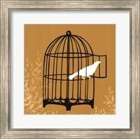 Framed Birdcage Silhouette II